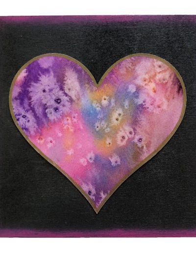 Heart painting - original art
