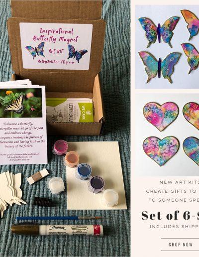 DIY Magnet/Ornament Art Kits