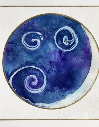 New Moon original painting