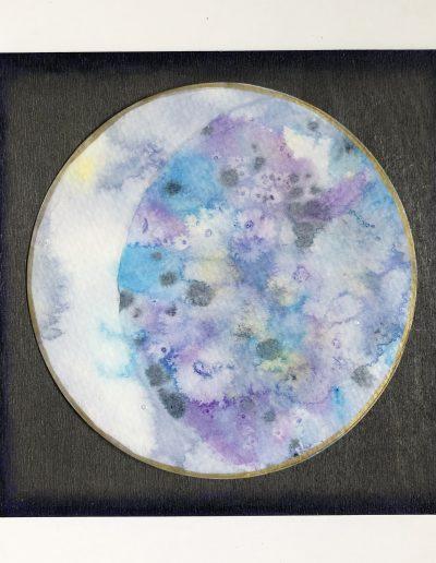 Crescent Moon original painting